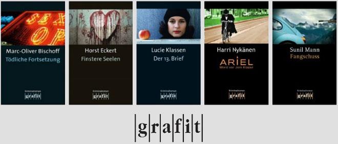 Collage Buchcover Grafit Verlag