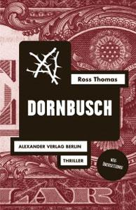 Buchcover Dornbusch dunkelrot