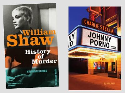 Buchcover William Shaw und Charlie Stella