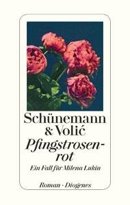 Buchcover Pfingstrosenrot von Schuenemann und Volic