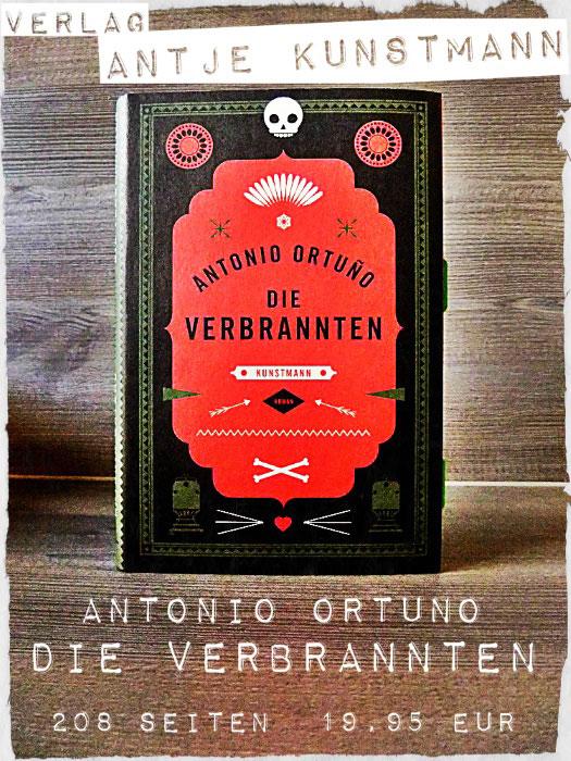Buch Die Verbrannten von Antonio Ortuno
