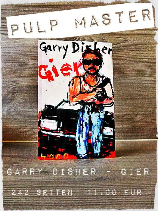 Buch Gier von Garry Disher