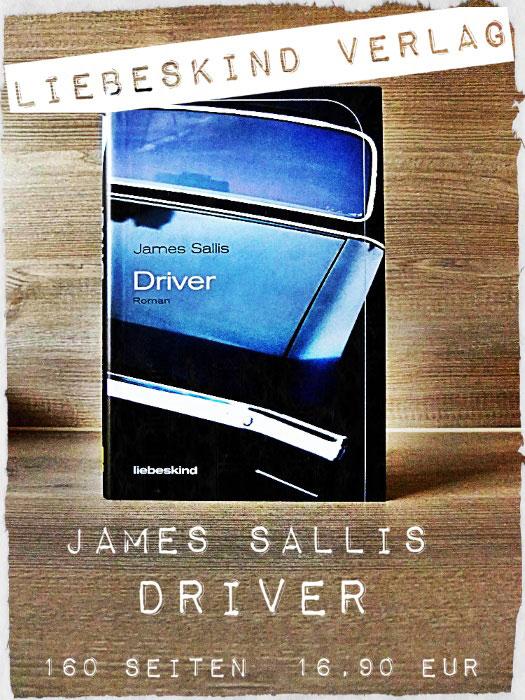 Buch Driver von James Sallis