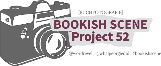 Logo Buchfotografie Kamera Bookish Scene