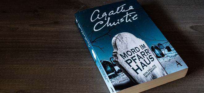 Kriminalroman Miss Marple Mord im Pfarrhaus Agatha Christie Atlantik Verlag
