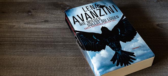 Kriminalroman Nie wieder sollst du lügen Lena Avanzini Haymon Verlag