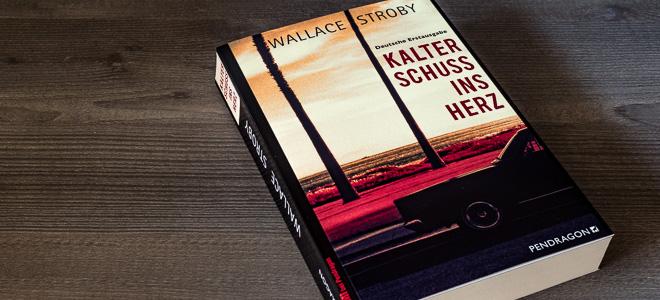 Kriminalroman Kalter Schuss ins Herz Wallace Stroby Pendragon Verlag