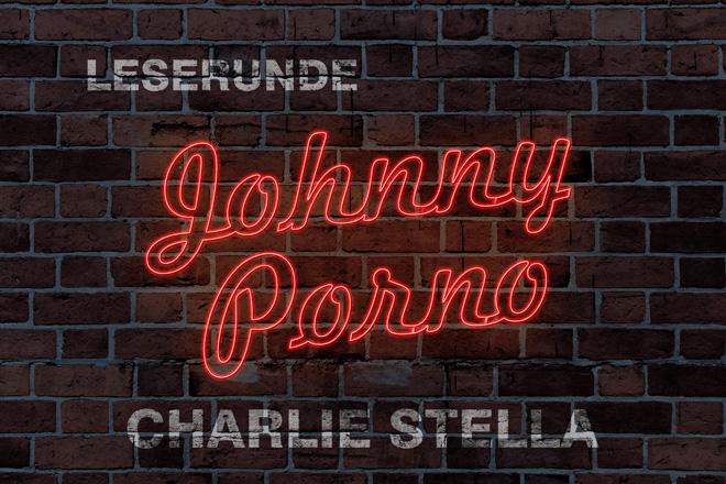 Banner Leserunde Johnny Porno von Charlie Stella Wortgestalt Buchblog