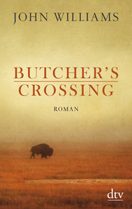 buchcover john williams butchers crossing dtv